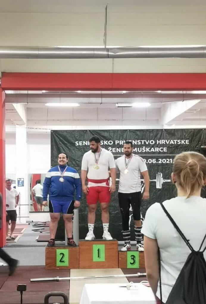 Imoćanin osvojio 3 zlatne medalje na prvenstvu u dizanju utega