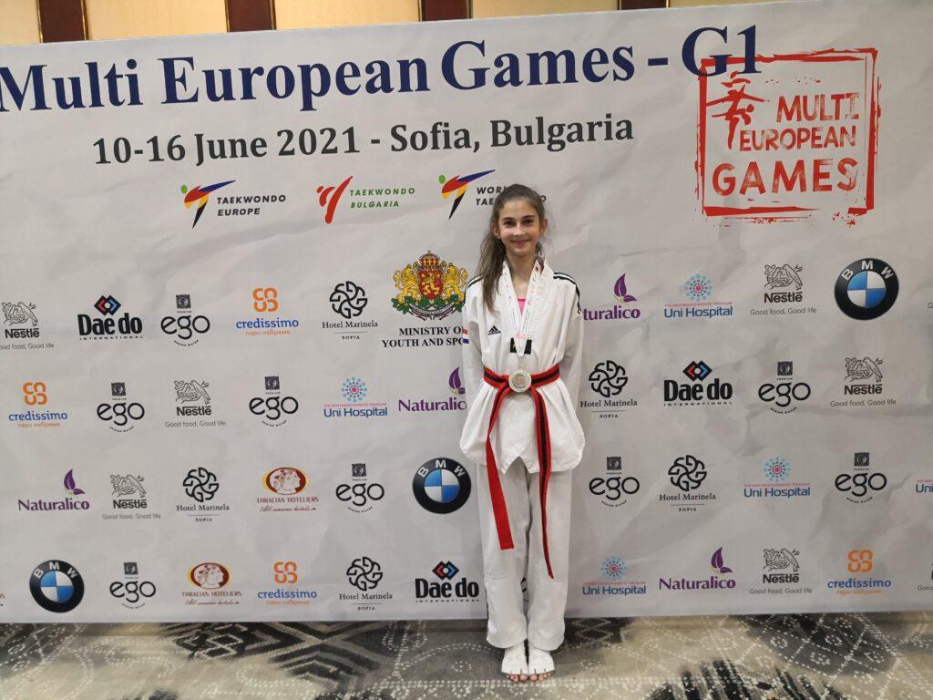 Imoćanka se kvalificirala na Europsko kadetsko prvenstvo u taekwondou