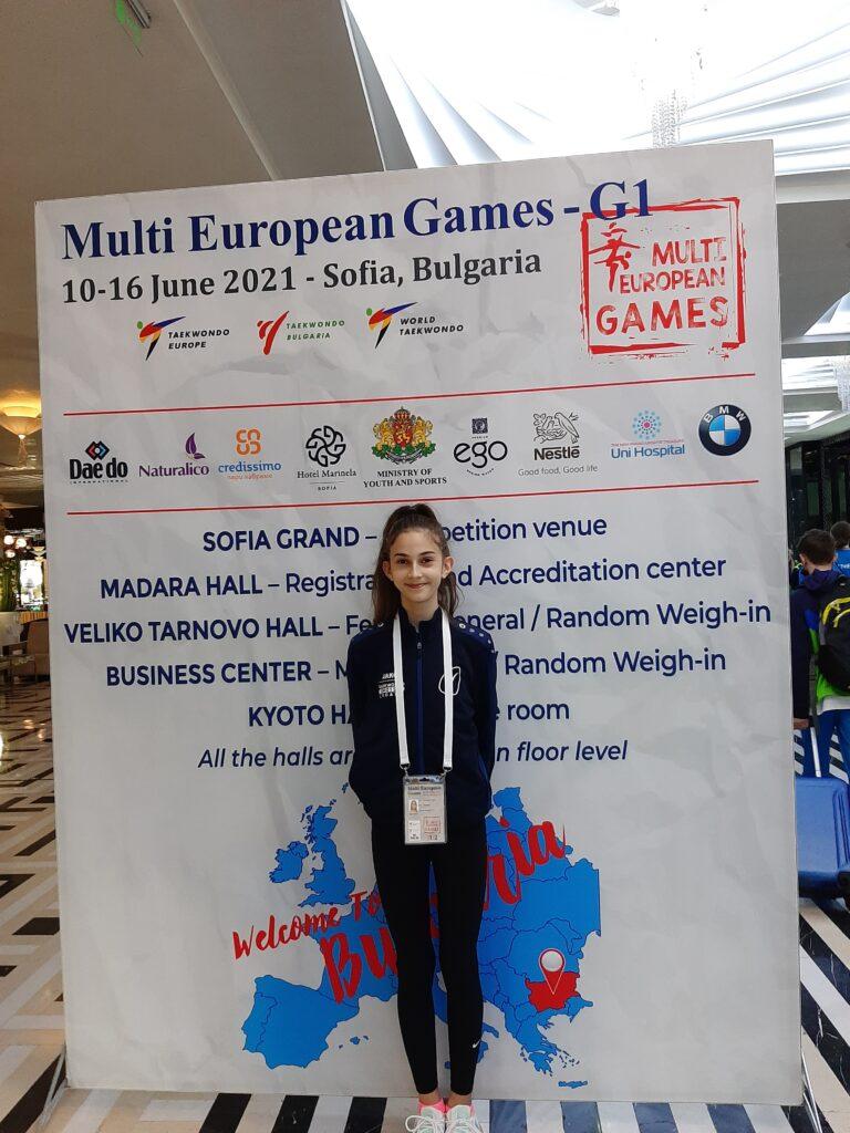 Imoćanka nastupa u Bugarskoj na kvalifikacijama za Europsko prvenstvo u taekwondou