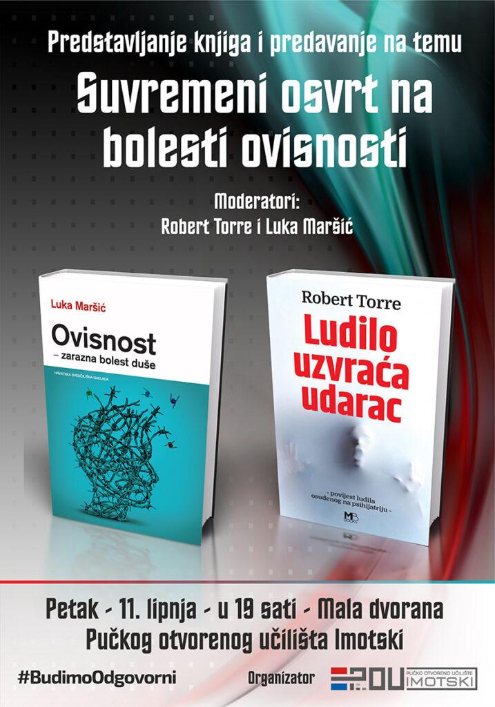 """Gost s razlogom: dr. Robert Torre o predstavljanju knjige """"Ludilo uzvraća udarac"""""""