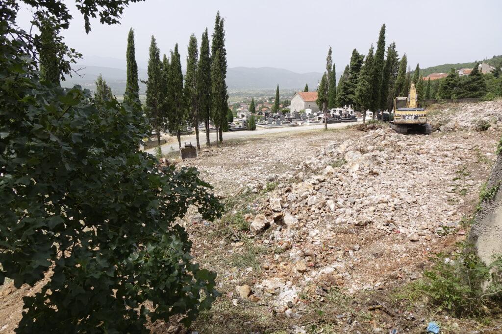 Započeli radovi na proširenju Gradskog groblja Gospe od Anđela