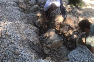 Započela obnova urušenih serpentina u Modrom jezeru