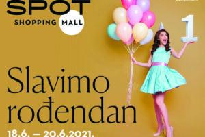 SPOT SHOPPING MALL u Makarskoj Vas poziva na proslavu prvog rođendana