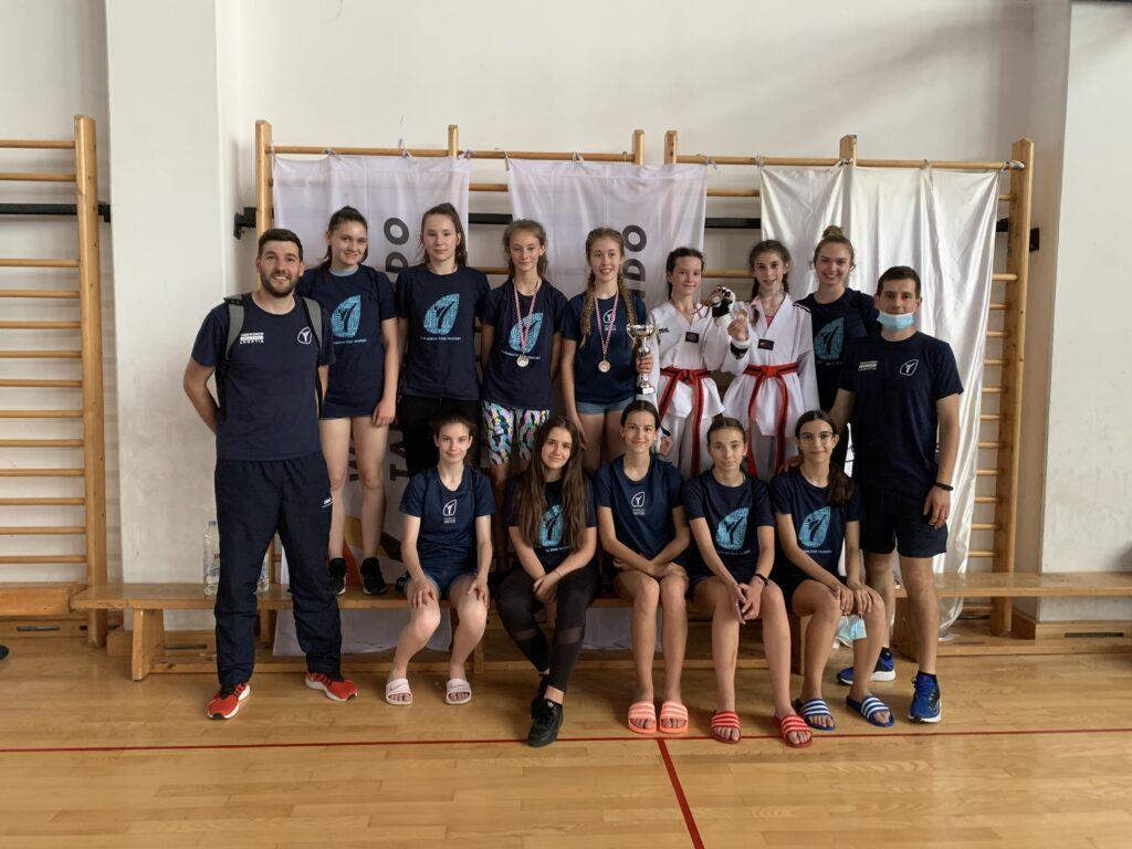 Imoćani oduševili na kadetskom i juniorskom prvenstvu Hrvatske u taekwondou
