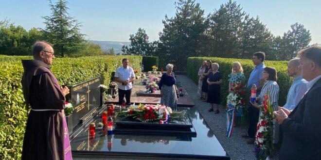 Obilježena 10. godišnjica smrti Ivana Milasa, nekadašnjeg saborskog zastupnika i čuvara Državnog pečata