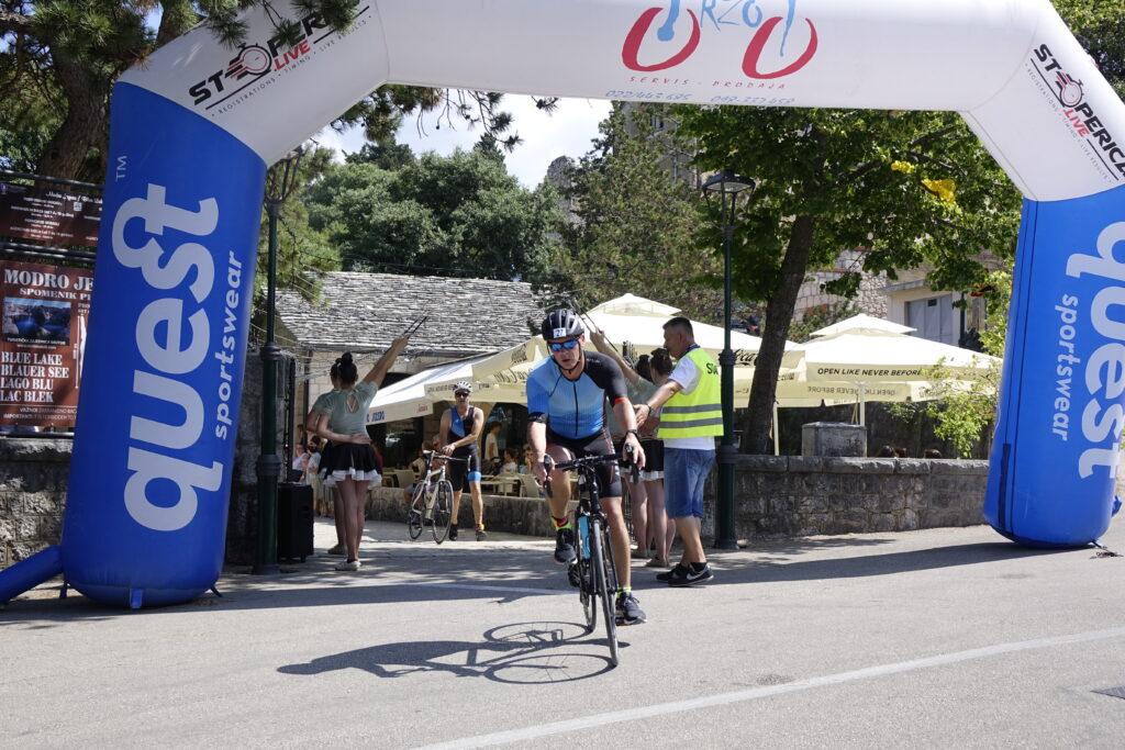 Na drugom triatlonu u Imotskom sudjelovali natjecatelji iz cijelog svijeta