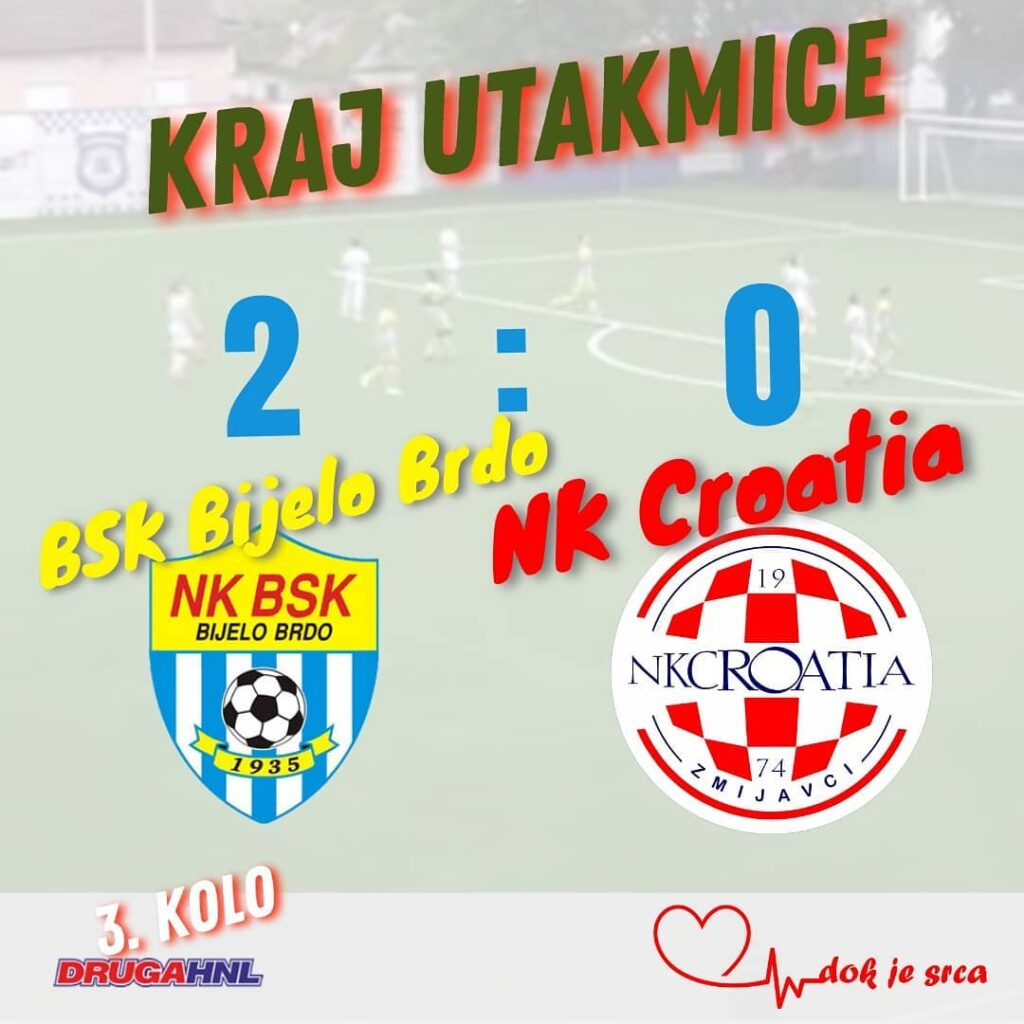 Poraz Croatie u 3.kolu 2HNL