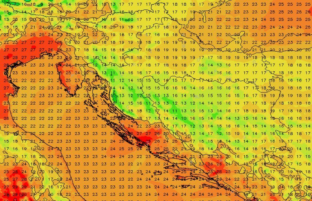 """Velika promjena pred vratima: Niz ciklona ovog tjedna """"otpuhat"""" će pasje vrućine, a stižu i tako potrebne kiše"""