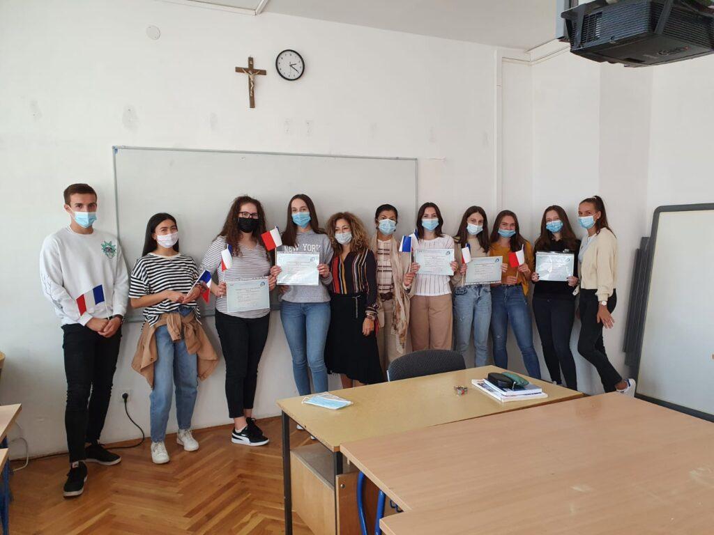 Europski dan jezika u Gimnaziji dr. Mate Ujevića u Imotskom