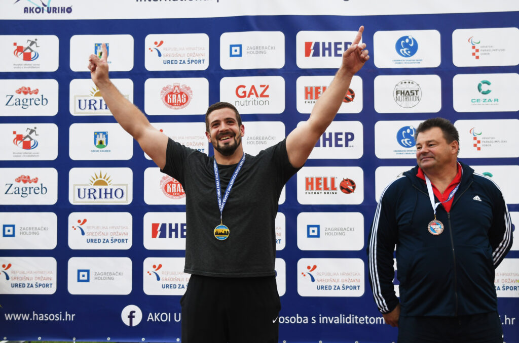 Imoćanin Ivan Katanušić osvojio srebro na Paraolimpijskim igrama u Tokiju